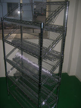 Wire Shelving Restaurant Kitchen Stainless Steel Shelves Tiers
