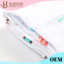 OEM service production softtextile muslin swaddle blanket