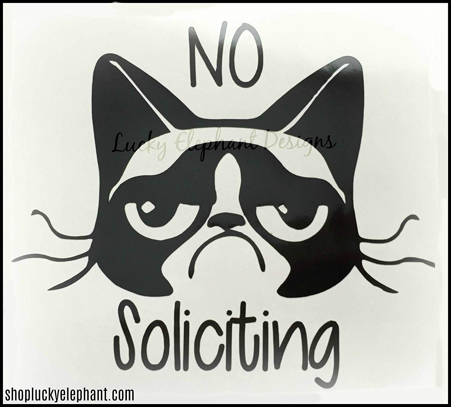 Picture of: Buy Funny No Soliciting Warning Sign No Soliciting F Ck Off Great For Practical Jokes Or For Real Use 10 X 6 Plastic Sign In Cheap Price On Alibaba Com