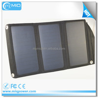 Dual USB output camping hiking solar charger folding solar panel pack 5V 19.8w