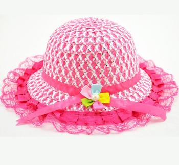 af4a7c0bcdf Wholesale Outdoor summer sun hat wholesale baby girls children floral funny cute  kids bucket hats custom