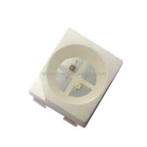 Dual Chips Pin polarity the same 625nm 570nm PLCC4 Red-Green Chip 3528 Bi-Color SMD LED
