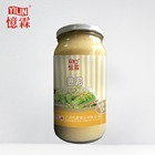 Good price 1kg canned minced ginger paste easy cooking condiment come from china manufacturer