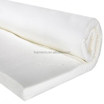 shanghai roll up size memory foam mattress topper
