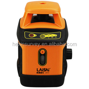 Professional self-leveling rotary laser level Laisai LS515II land laser level