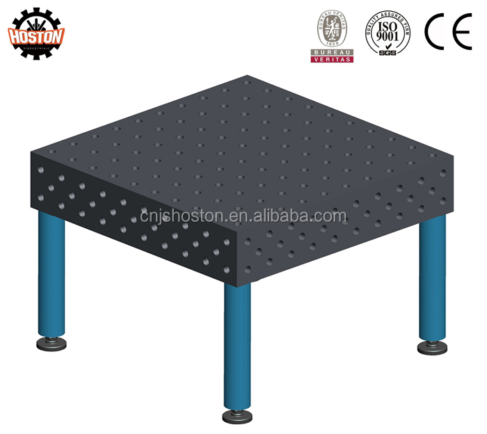 3D Modular Welding Table with Fixtures and Jigs