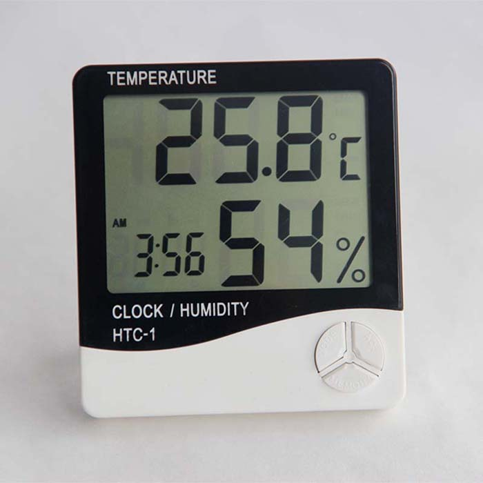 Household indoor C / F humidity <strong>temperature</strong> gauges digital thermometer hygrometer
