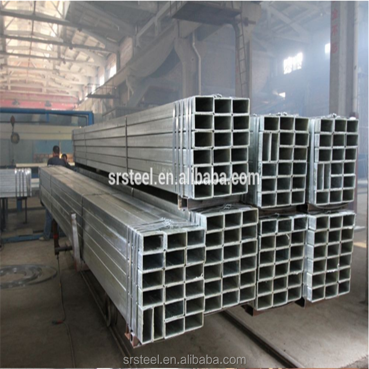 Carbon steel pipe with square pipe from jinan steel pipe co., ltd