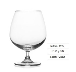 Factory Direct Crystal Brandy Glass 22 Ounce for Wholesale