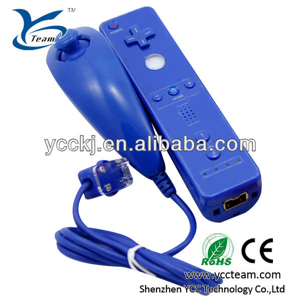 Fast Shipping For Nintendo Wii Remote Controller and Nunchuck Combo 2 in 1 high quality