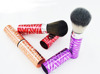 Stretched refillable makeup powder brush with synthetic hair beauty salon equipment latest products in market