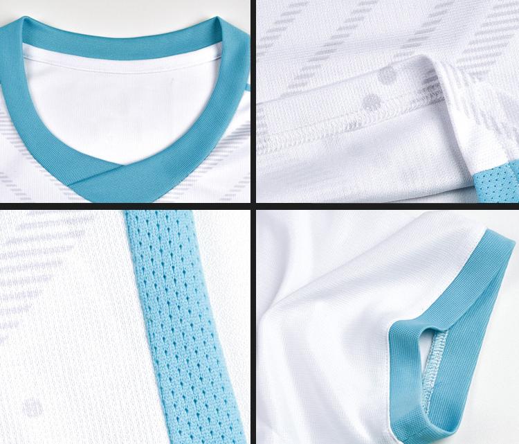 Personalizzato Moda Sublimazione Sport di Squadra di Calcio Jersey Uniforme Set