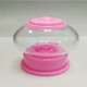 Transparent Color Jelly Bean Spiral Mini Candy Dispenser
