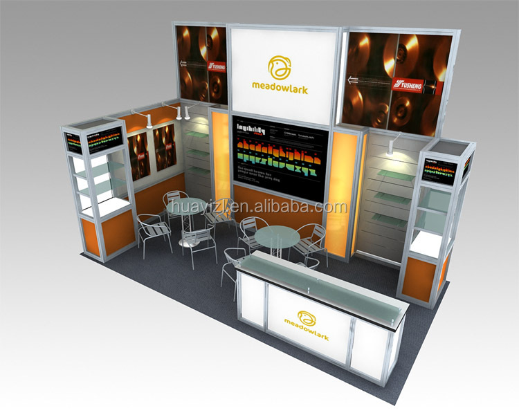 Exhibition Stand Production : Or expo exhibition stand design and