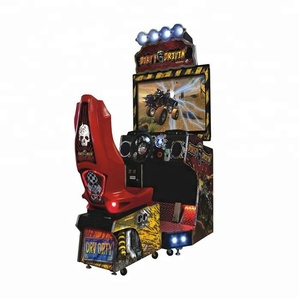 Coin operated 42 inches driving racing car Simulator arcade Game Machine/dirty driving game machine