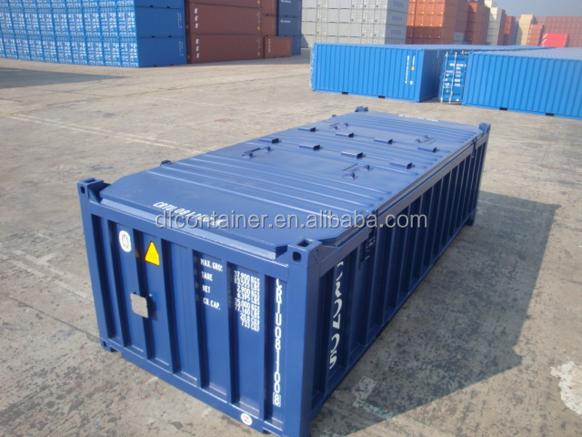 20 Half Height Open Top Container Marine Shipping Unit