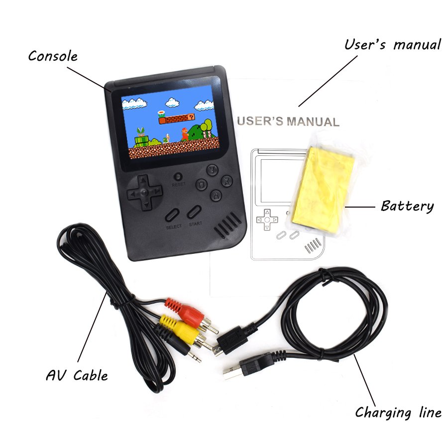 Hot selling Retro Station Pochet system GB-40 300 in 1Handheld game console