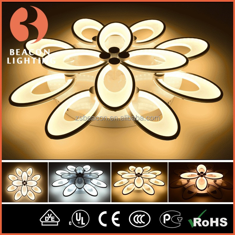 2015 New Design Controllable Temperature Led Lights Visible Brightness Full Of Ideas Led Ceiling Light MC98009