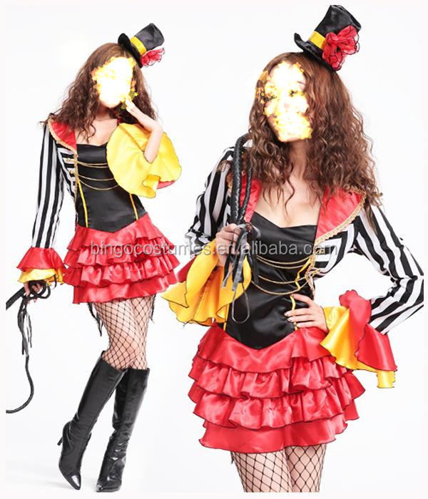 LADIES CIRCUS COSTUMES harley quinn cosplay costume
