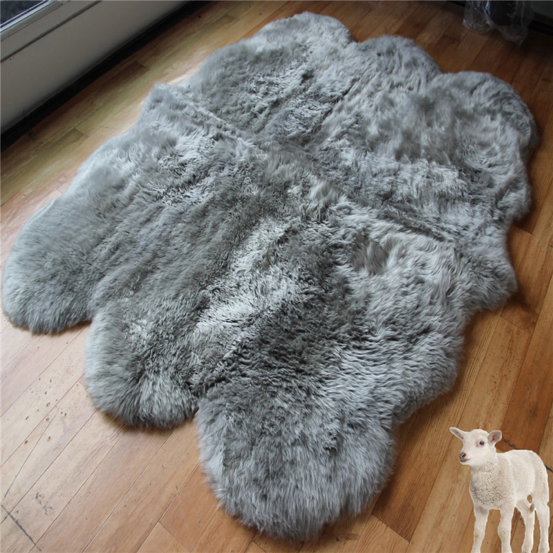 China factory 6p 8p non slip rug pad sheepskin moving blanket