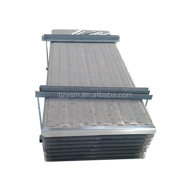 Best bimetal layer wear plates for bottom ash feeder side plate