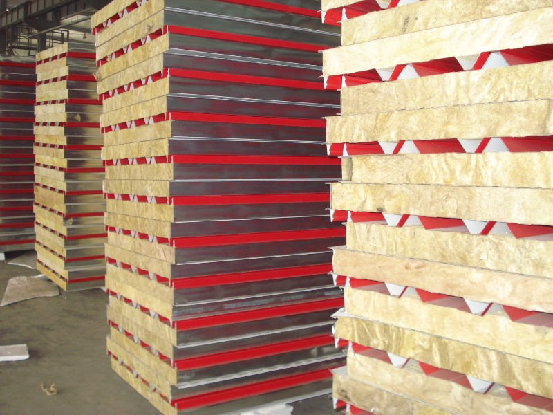 Economical light weight sandwich wall panels / construction materials for sale