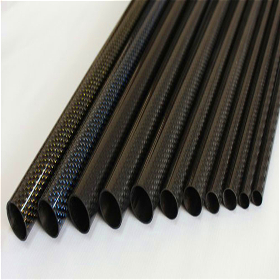6mm 3K Twill <strong>Carbon</strong> Fiber Tube