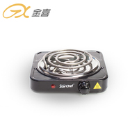 1000W Factory Cheap Price House Electric Cooking Stove Single Coil Hot Plate
