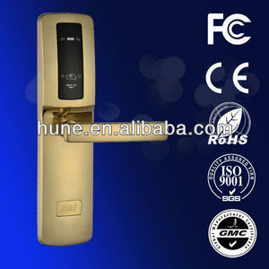 HUNE card swipe door entry systems hotel rf card lock