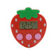funny kitchen digital strawberry shape count down timer