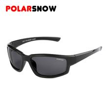 POLARSNOW Vintage Polarized Sport font b Sunglasses b font font b Men b font Brand 2016