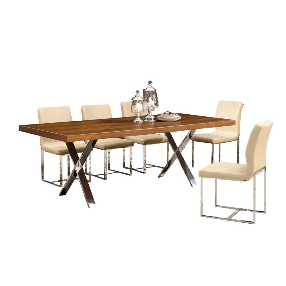 Phenomenal 8 Seater Beautiful Stainless Steel Leg Walnut Veneer Wooden Dining Table View Beautiful Dining Wood Table Shidai Product Details From Foshan City Download Free Architecture Designs Lukepmadebymaigaardcom