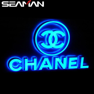 Customized 3D Led Lighting Sign Letters Signboard Channel Letters Logos