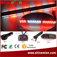 "Double Side 50"" car roof vehicle 96LED Emergency Flash Strobe 288W Warning Light Grille Magnetic Base"