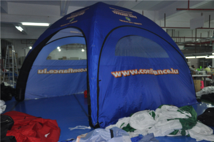 Low price outdoor trade show tent, large inflatable advertising tent//