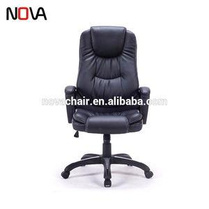 2018 Modern Black Leather Reclining Staff Office luxury Racing Chair