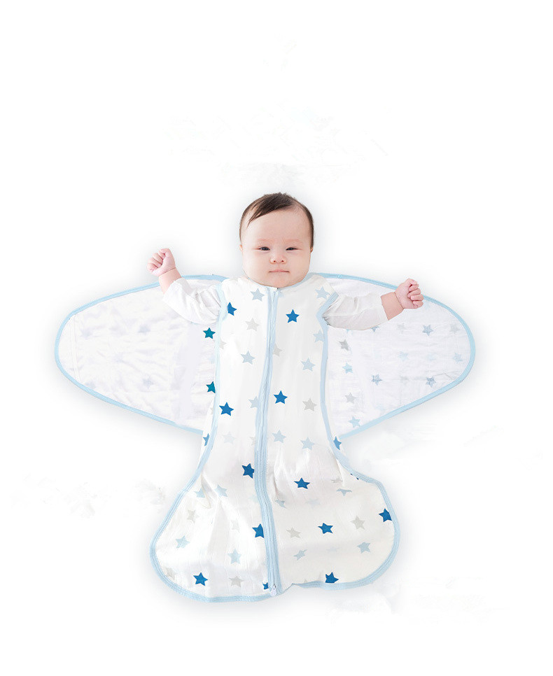 eco-friendly bamboo fabric baby sleeping bag organic cotton baby clothes