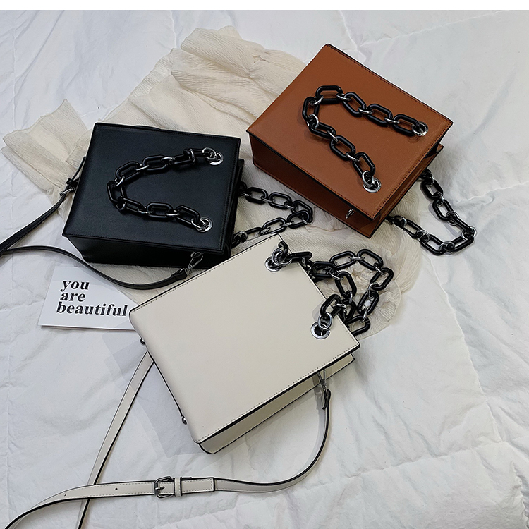 RKY0603 Simple single shoulder big female 2019 new fashion lady Korean version chain cross-body large capacity texture tote bag-6