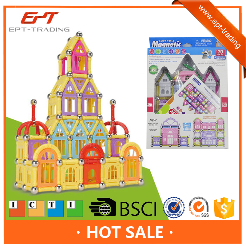 Hot Sale Kids Toy Brick Magnetic Building Block Toy