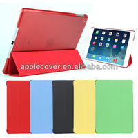Pour ipad air housse ultra thin conception pc + cuir souple