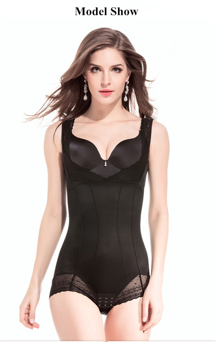 Ultrathin Women Elegant Shapers Postpartum Seamless Corset Control Brief Bodysuit