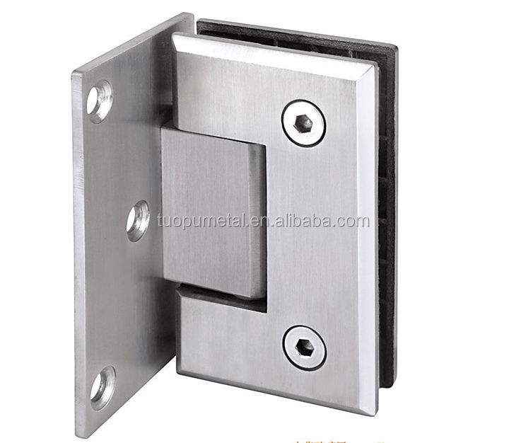 China Factory 90 Degree Glass Shower Door Pivot Hinge Glass Door Hinges Adjus