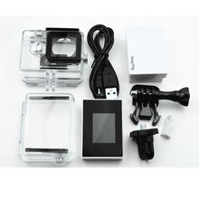 Xiaomi Yi Accessories Waterproof Housing Case+Expand Case Cover+LCD Screen Display+External BacPac Battery For Xiaomi yi Action