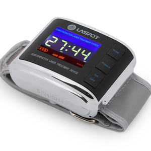 Cold Laser Treatment Wrist Watch semiconductor laser therapy hypertension For Family