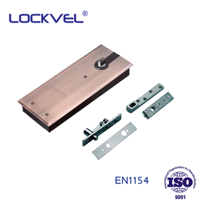 LOCKVEL EN1154 approved double action floor spring hinge for glass door or wooden door