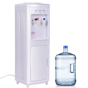 500W Commercial POU Water Dispenser hot cold normal water dispenser bigger tank connection tap water