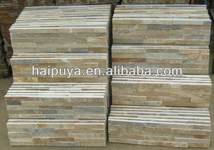 Multicolor Slate Stacked Stone