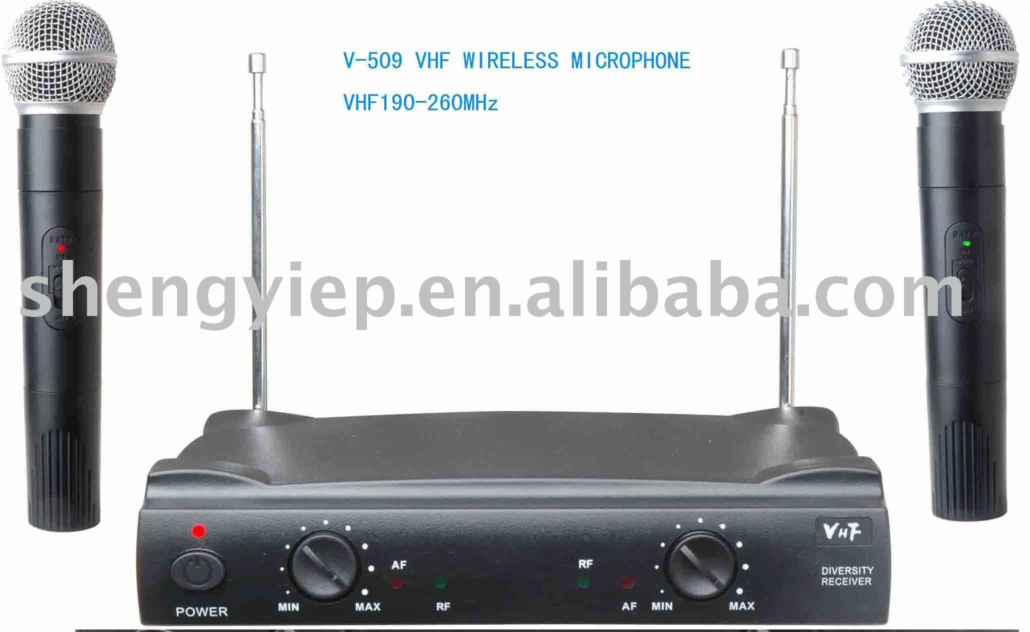 Vhf Wireless Microphone V-509