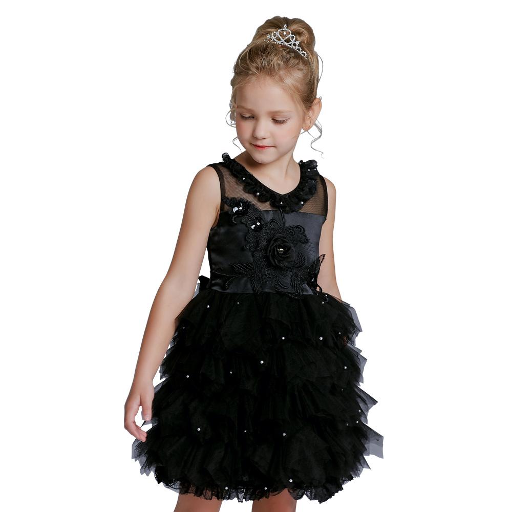 376ae4c8f مصادر شركات تصنيع أسود فساتين للأطفال وأسود فساتين للأطفال في Alibaba.com