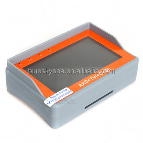 "3-In-1 Wrist 4.3"" LCD HD-AHD+HD-TVI+ CVBS Analogy CCTV Camera Test Monitor Tester"